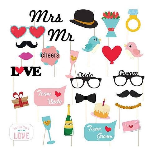 PHOTOCALL MR & MRS WEDDING -DK7049