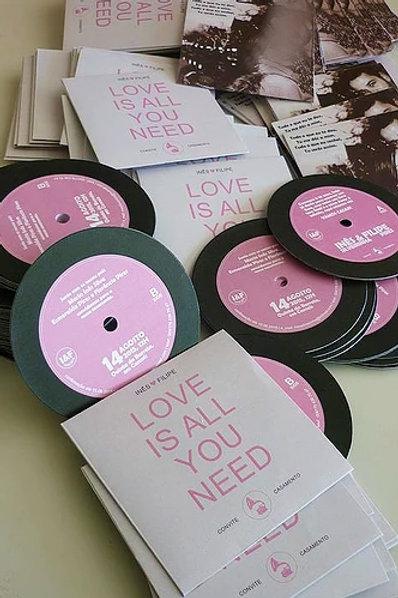 Convite Casamento CD Musica 2021099-230