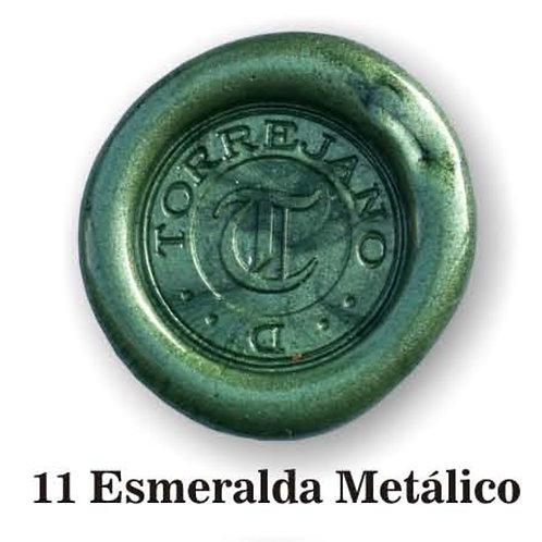 Lacre Esmeralda Metálico n.11