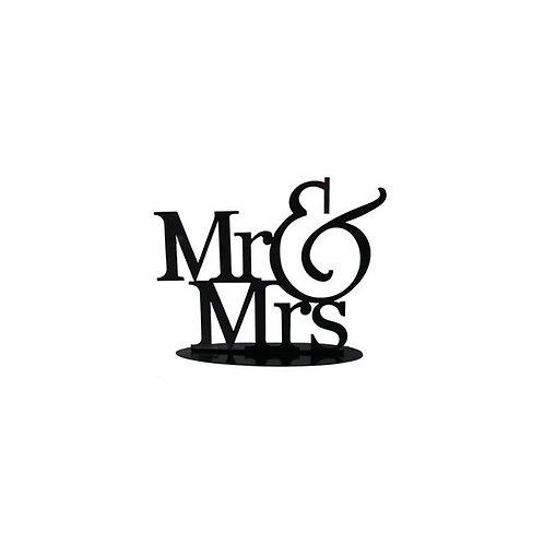 TOPO BOLO CASAMENTO MR & MRS  - DK013