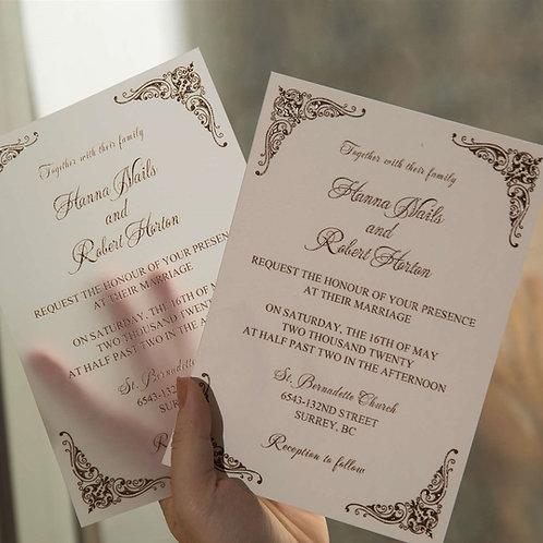 Convite Casamento Impressão UV 2021186.10-280