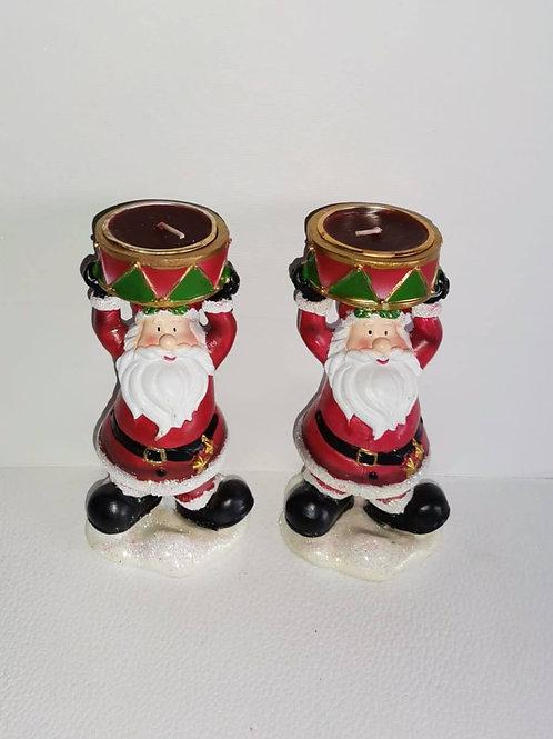 Pai Natal com vela - NL001