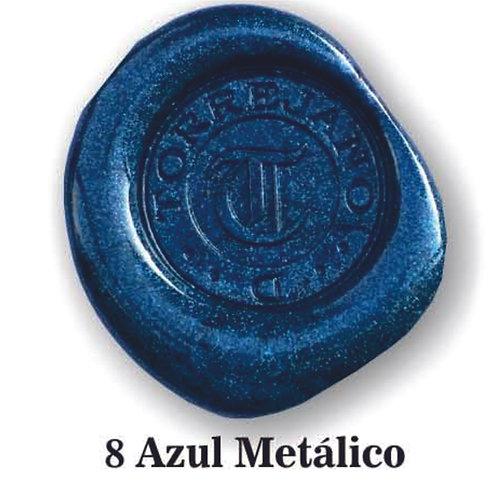 Lacre Azul Metálico n.8