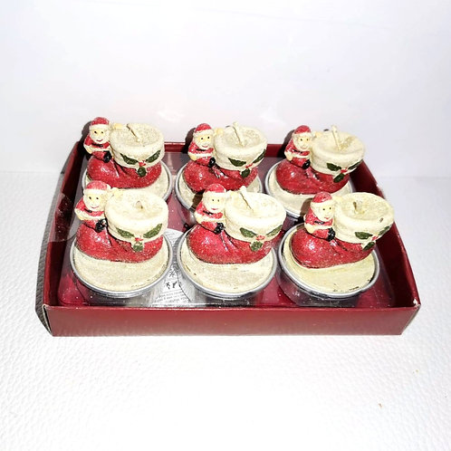 Cojunto 6 velas para lamparinas - NL025