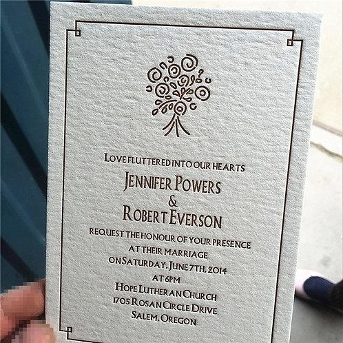 Convite Casamento LETTERPRESS 2021192.-380