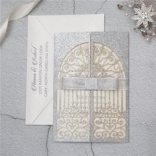 Convite Casamento Rendilhado 2021139.WPL0139G-390