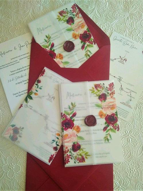 Convite Casamento Floral 2021008-290
