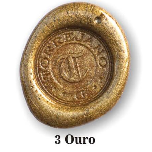 Lacre Ouro n.3