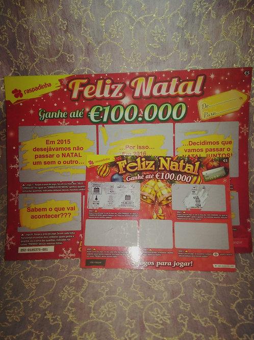 Convite Casamento Raspadinha de Natal 2021035-180/230