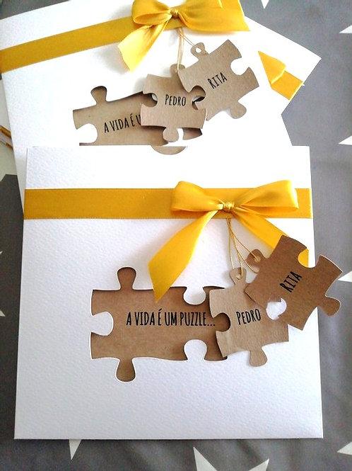 Convite Casamento Puzzle 2021079-240