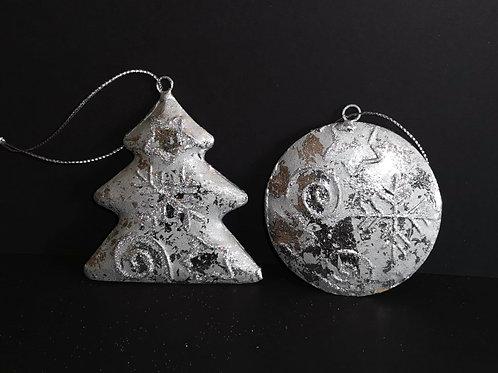 Conjunto 2 peças decoração de natal - NL034