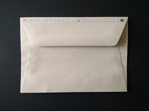 Envelope C6 Reciclado branco - EnvReci001