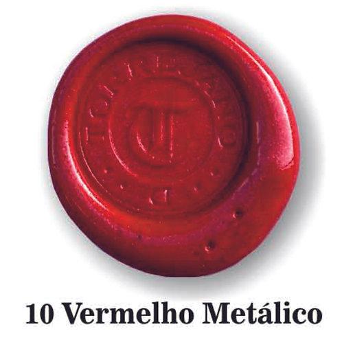 Lacre Vermelho Metálico n.10