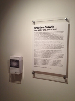 Wall Text and Exhibition Brochure
