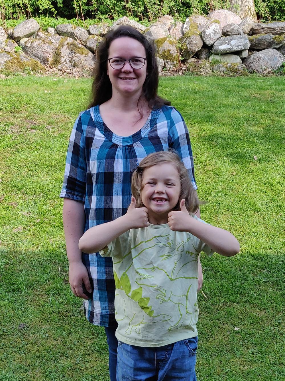 Jane och dottern Siv