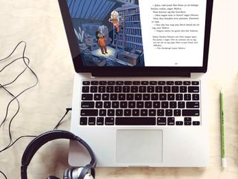Kan ljudböcker ge bättre engagemang och resultat i klassrummet?