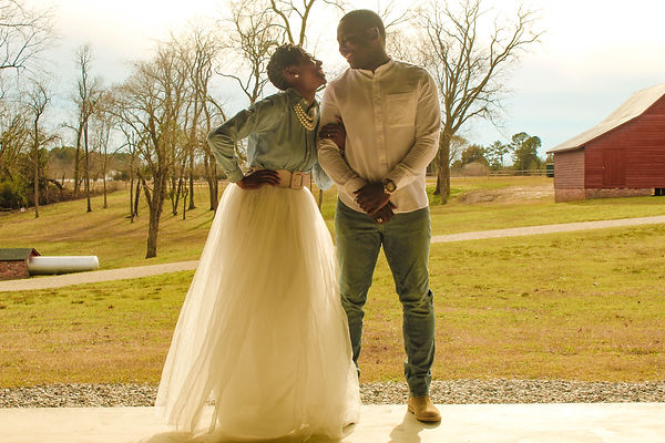 Black Couples engagment pictures shot at Windsor Castle in Suffolk Virginia shot by MXJ Photography