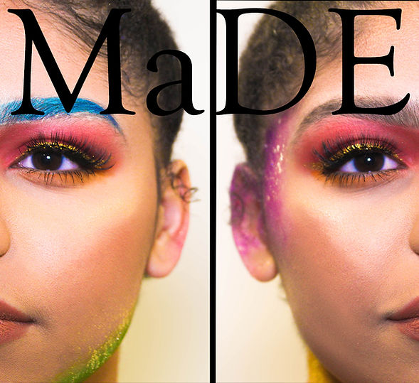 Brianna Cosmetics ad for MaDE using Kylie Cosmetics and Fenty Beauty shot by MXJ Photography