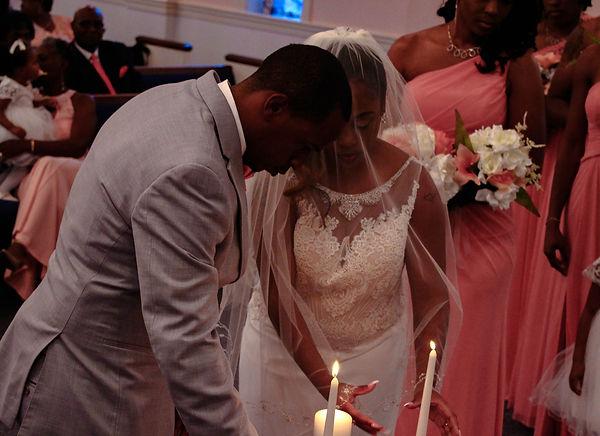 Wedding pictures shot in Salisbury Maryland