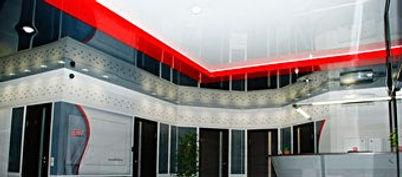 установка натяжного потолка от Fran Studio в своем доме, квартире или офисе