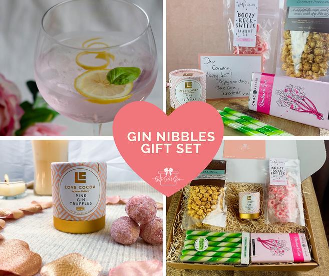 Gin Nibbles Gift Set