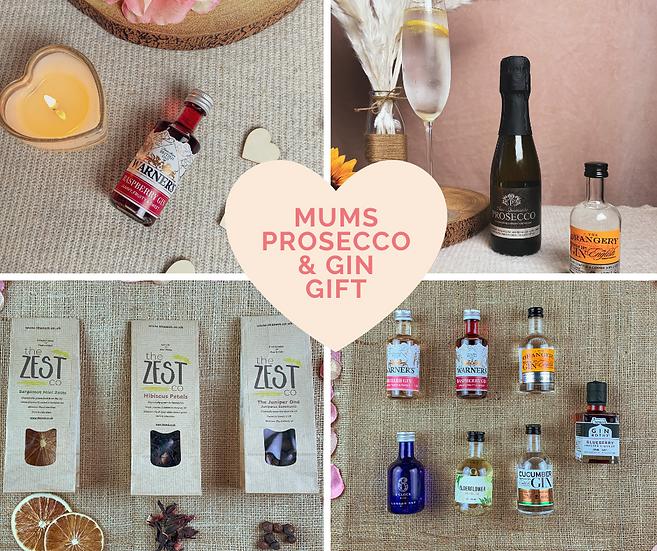 Mum's Prosecco & Gin Gift