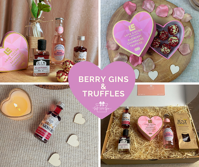 Berry Gins & Champagne Truffles