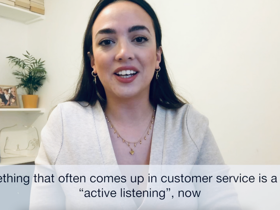 What is 'active listening'?