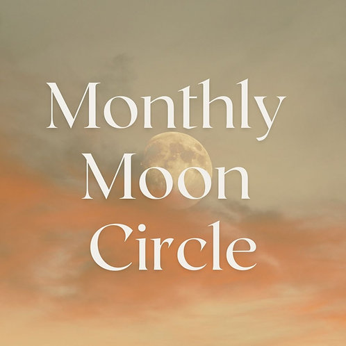 Monthly Full Moon Circle