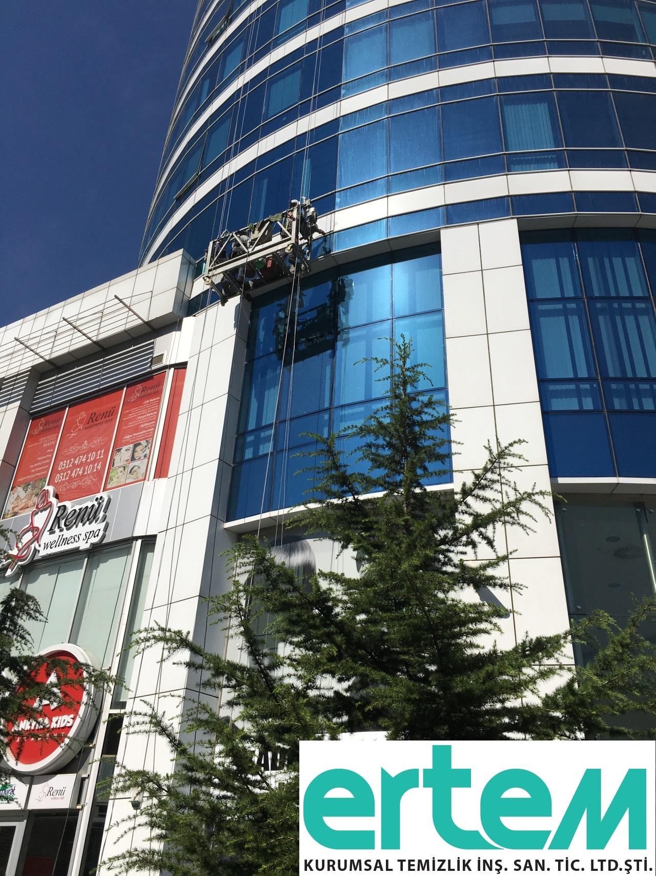 Ankara Dış Cephe Cam Temizliği