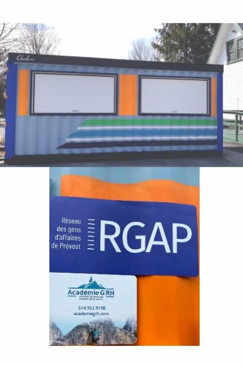 Publicité de votre logo sur le containeur du KM 14