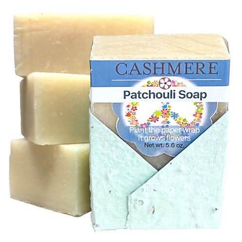 Patchouli soap by Cashmere Bath Co.
