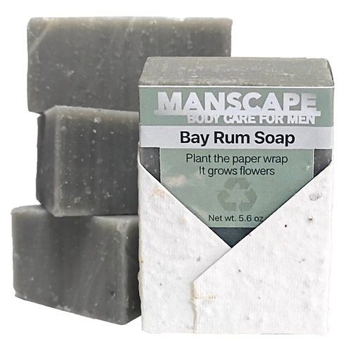 Manscape Bay Rum soap