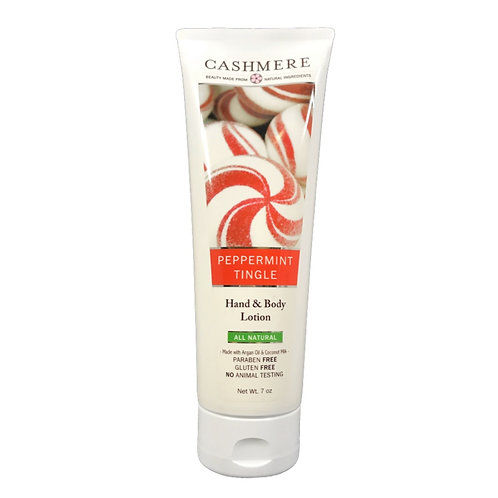 Peppermint Tingle products by Cashmere Bath Co.
