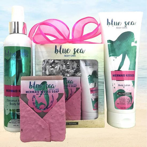 Mermaid Kisses products by Blue Sea Body Care