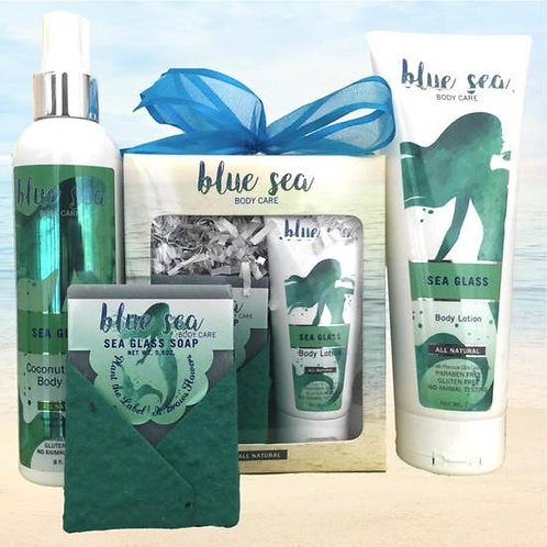 Sea Glass products by Blue Sea Body Care