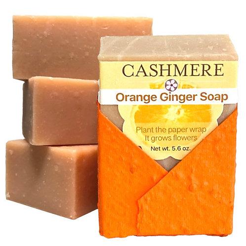 Orange Ginger soap by Cashmere Bath Co.