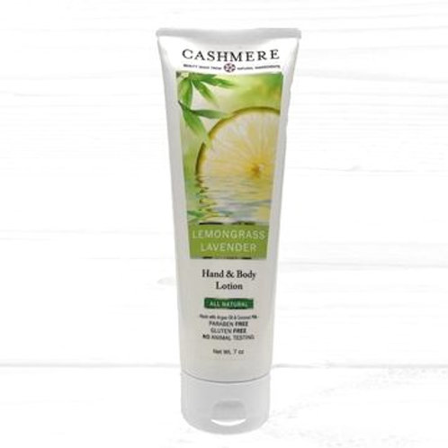 Lemongrass Lavender Hand and Body lotion by Cashmere Bath Co.
