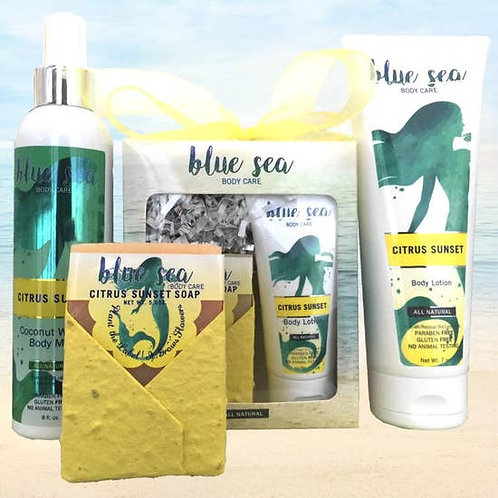Citrus Sunset products by Blue Sea Body Care