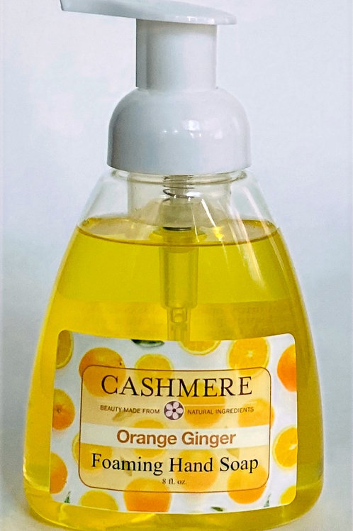 Orange Ginger Foaming Hand Soap by Cashmere Bath Co.