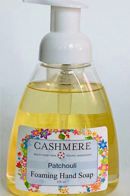 Patchouli Foaming Hand Soap by Cashmere Bath Co.