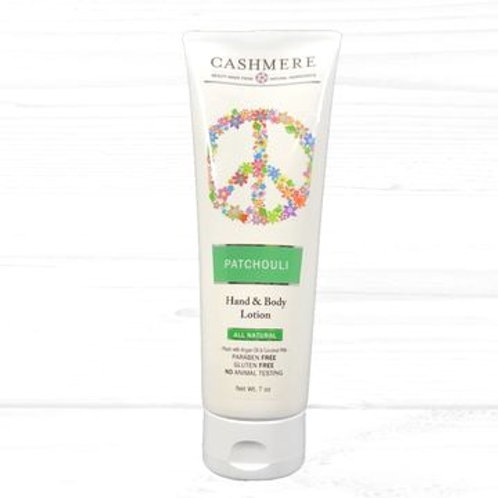 Patchouli Hand and Body lotion by Cashmere Bath Co.