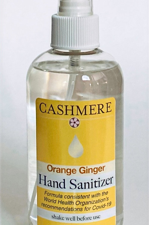 Orange Ginger Hand Sanitizer by Cashmere Bath Co.