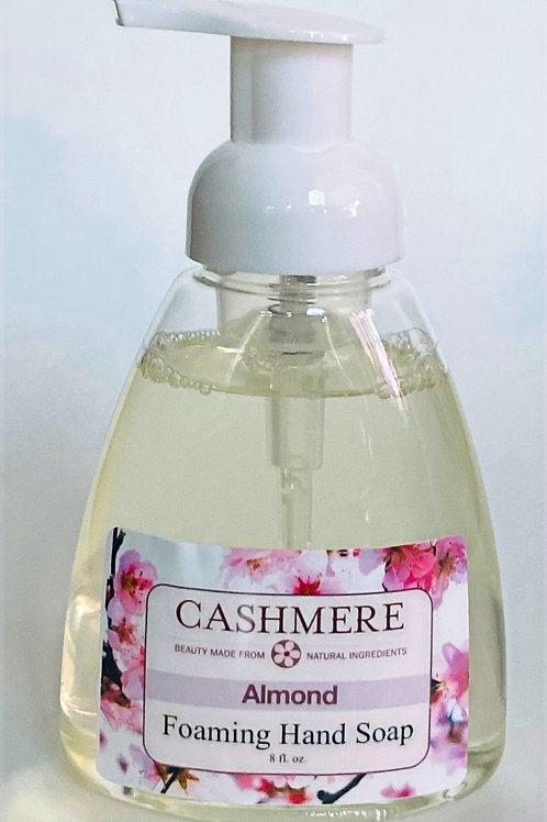 Almond Foaming Hand Soap by Cashmere Bath Co.