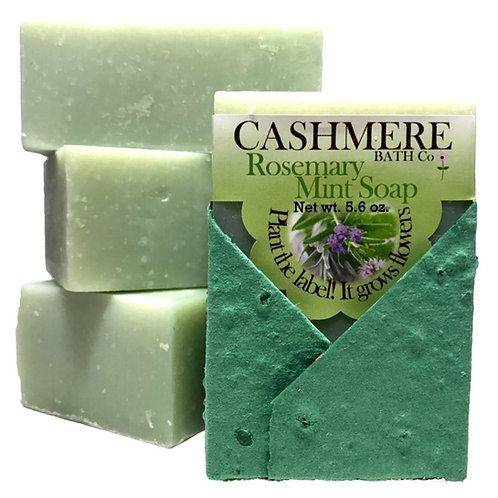 Rosemary Mint soap by Cashmere Bath Co.
