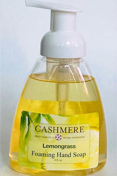 Lemongrass Foaming Hand Soap by Cashmere Bath Co.