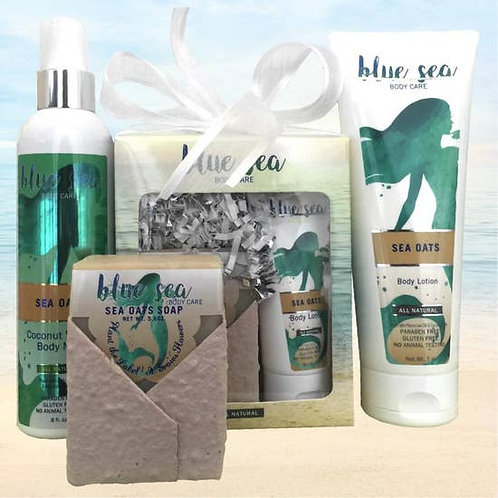 Sea Oats products by Blue Sea Body Care