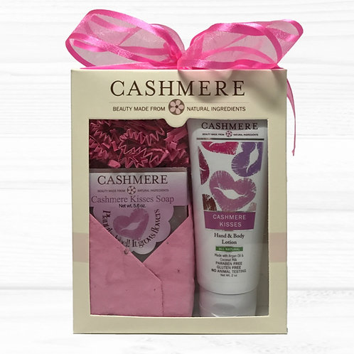 Cashmere Kisses soap and lotion gift set - Love Spell like scent