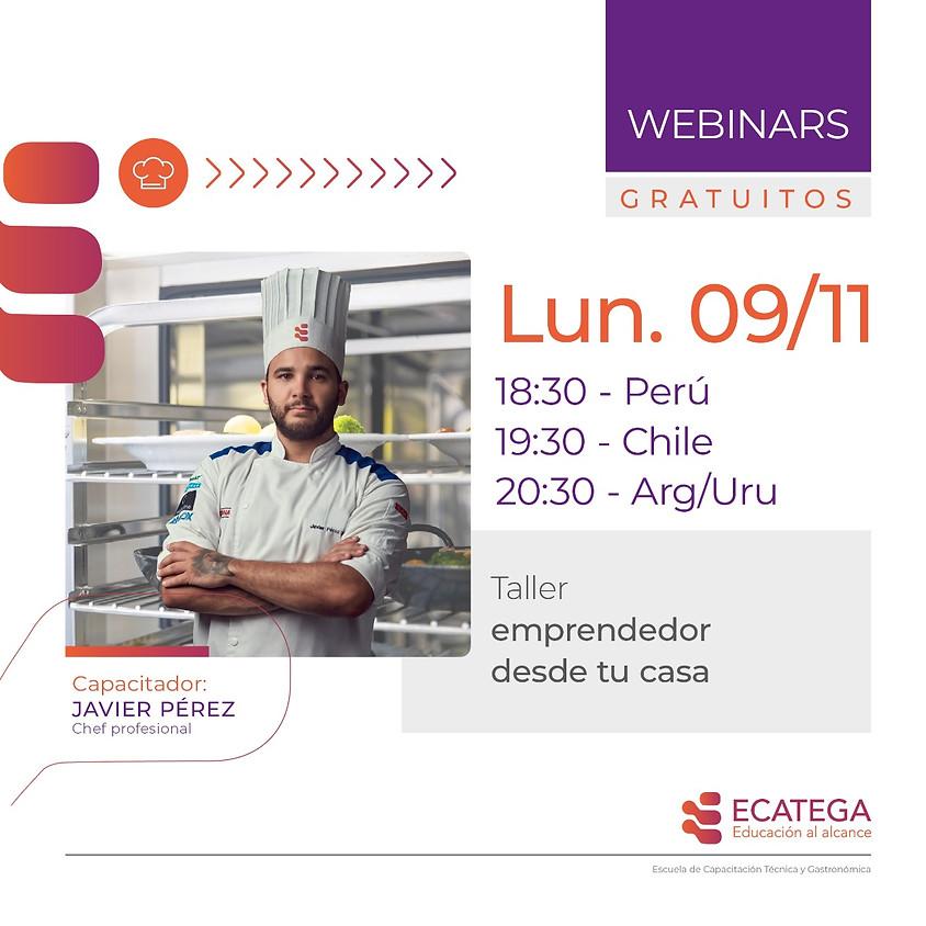 WEBINAR GASTRONÓMICO W-G-091120