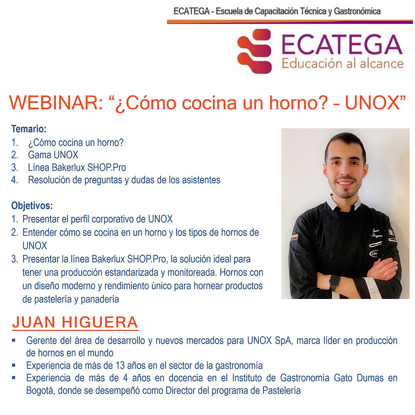 Webinar UNOX W-I-030620